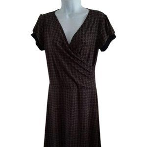 Reitmans Faux Wrap Dress Size 9